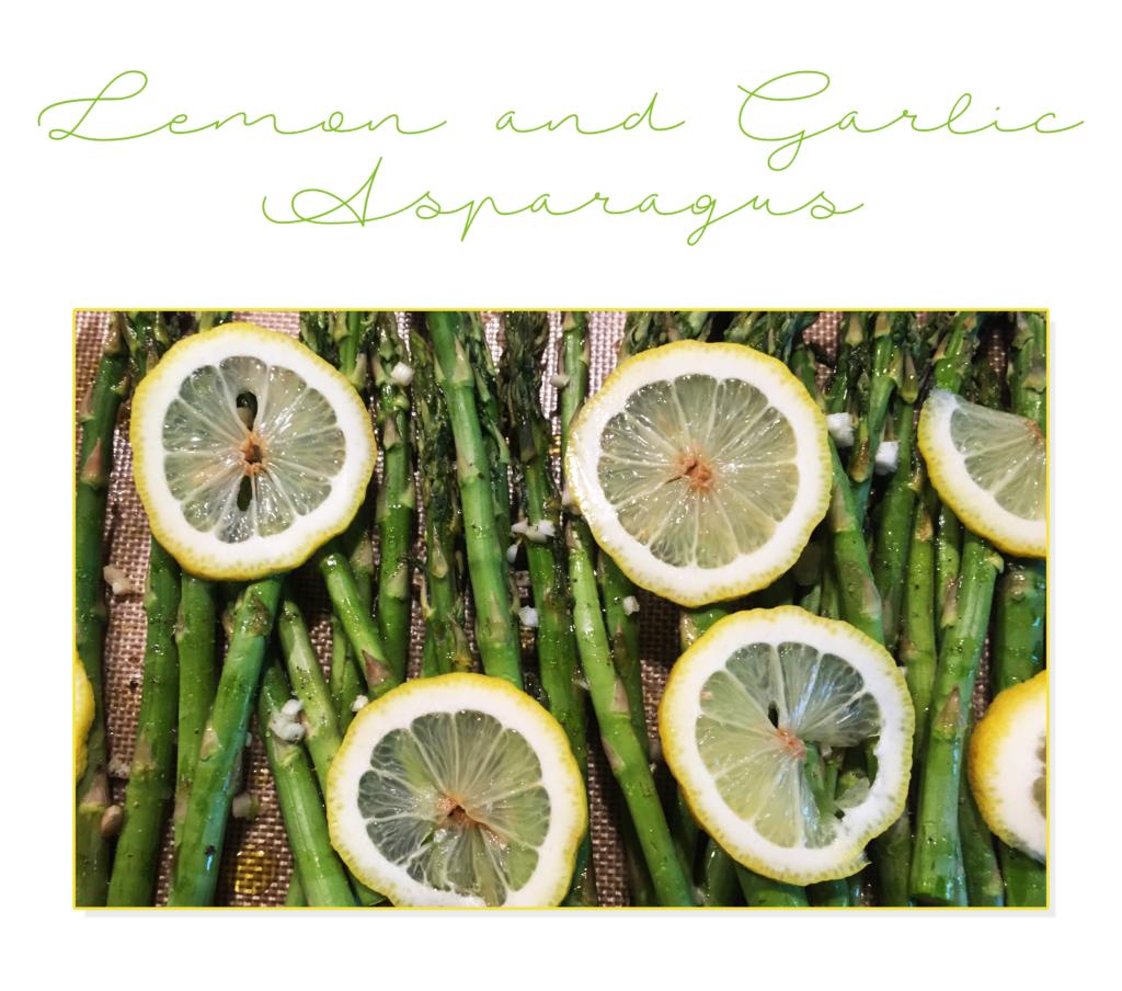 Lemon and Garlic Asparagus