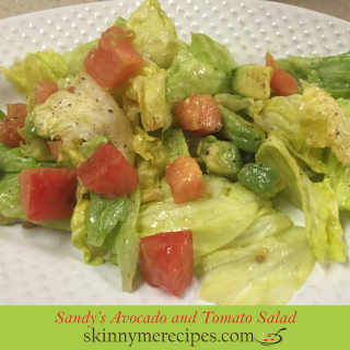 Sandy's Avocado and Tomato Salad
