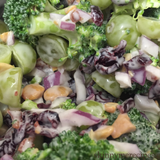 Skinny Broccoli Salad