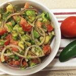 Avocado and Tomato Salsa
