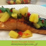 Broiled Pineapple Salmon