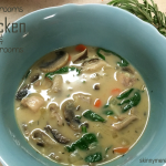 Mushroom Chicken and Mushroom Soup