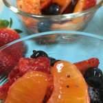Honey and Poppy Seed Fruit Salad
