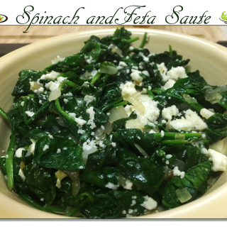 Spinach and Feta Saute