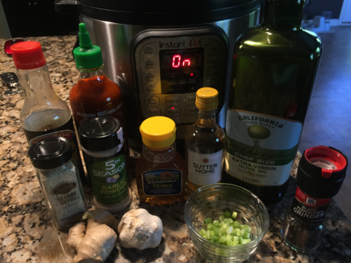 Ingredients for Instant Pot Asian Chicken