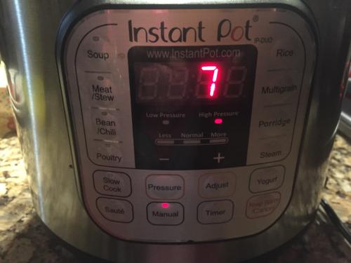 instant pot 7 in 1 manual