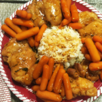 Instant Pot Honey Garlic Chicken and Carrots