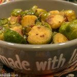 Instant Pot Bacon and Brussels Sprouts