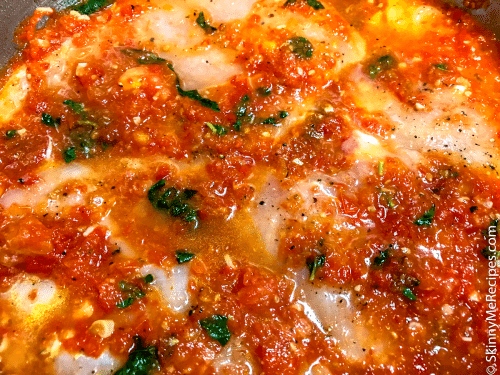 Weight Watchers Healthy Baked Chicken Parmesan
