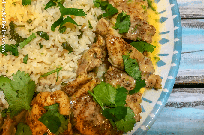 Instant Pot Creamy Cilantro Lime Chicken