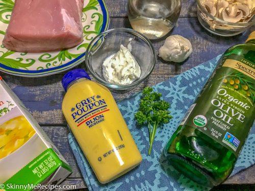 Instant Pot Pork Tenderloin with Mushroom Sauce