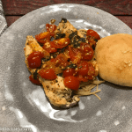 Tomato Garlic and Basil Chicken