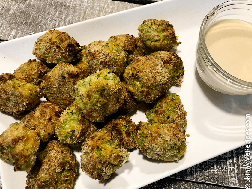 Air Fried Broccoli Bites