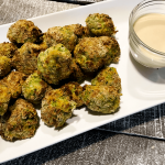 Air Fried Broccoli Bites