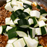 Mexican Zucchini and Ground Turkey