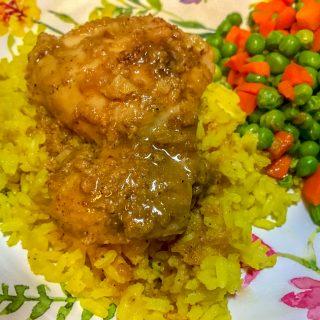 Instant Pot Maple Mustard Chicken Thighs